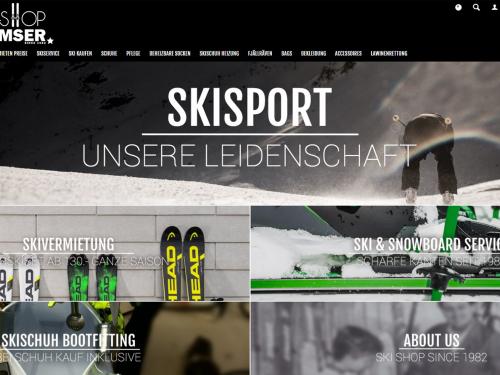 Ski Shop Ramser Startseite