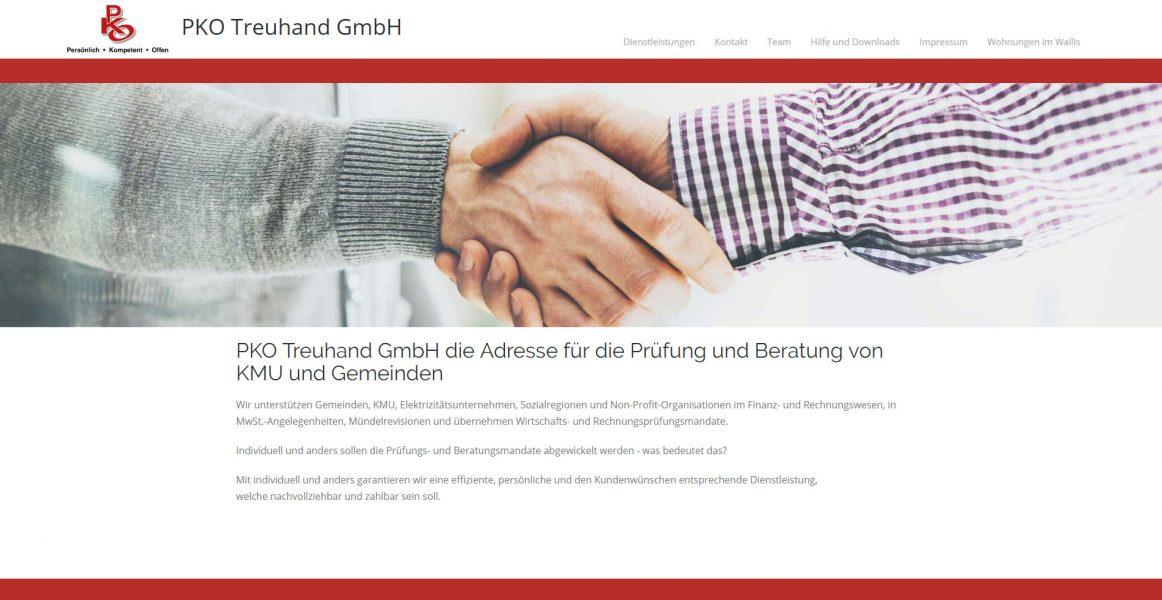 Startseite PKO Treuhand GmbH