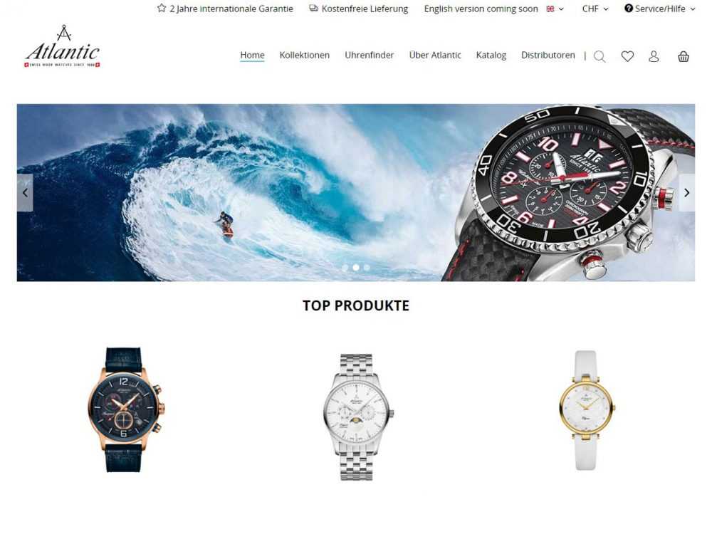 Atlantic Watches Startseite