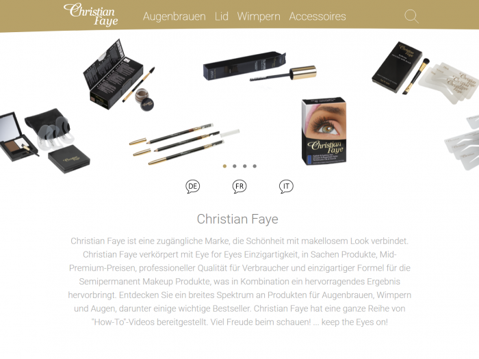 Christian Faye Startseite
