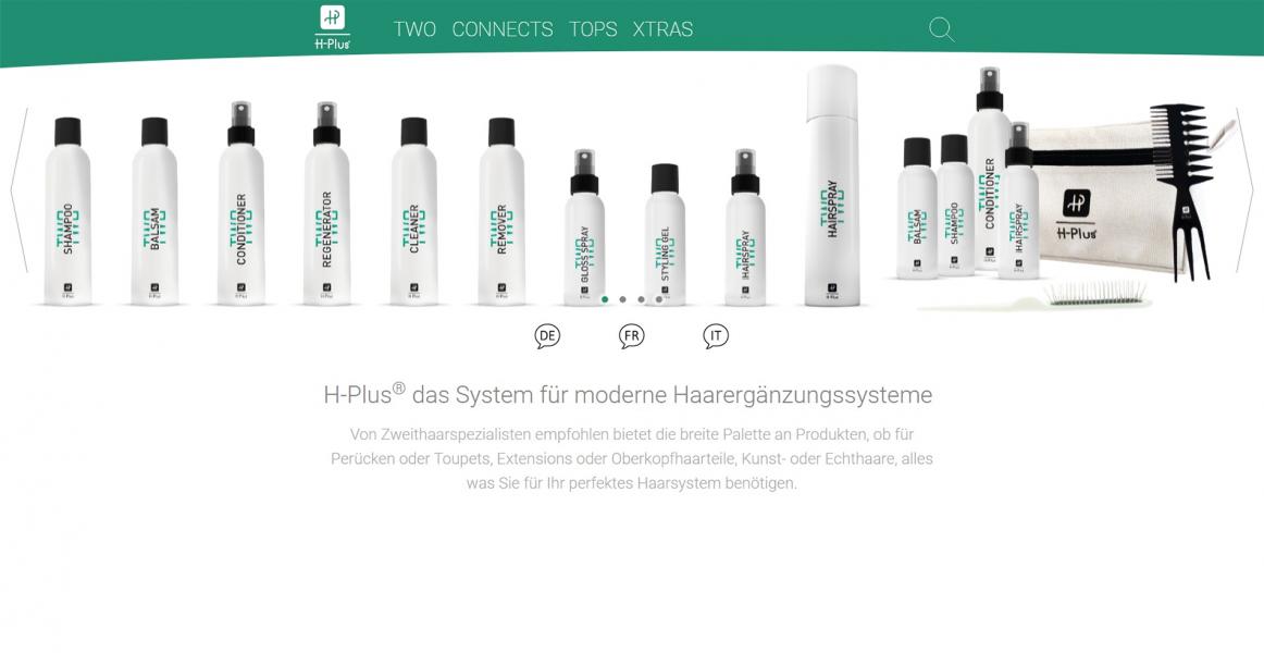 H-Plus Startseite