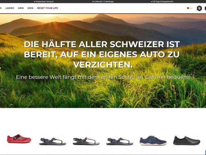 Referenz-Barefootshoes